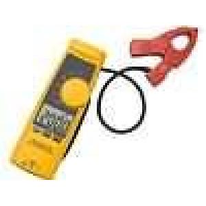 Číslicový klešťový měřič Ø:18mm LCD I DC:0,1-200A