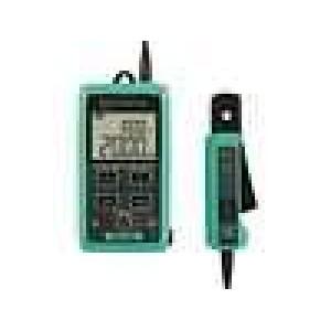 Klešťový měřič proudové smyčky Ø:6mm dvojitý LCD