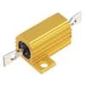 Rezistor drátový s radiátorem přišroubováním 220R 10W ±5%