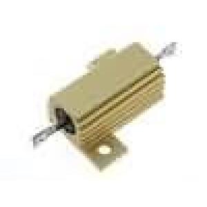 Rezistor drátový s radiátorem přišroubováním 15R 25W ±5%