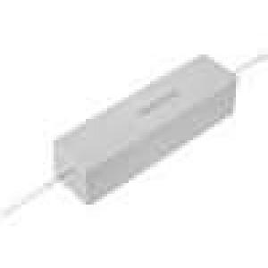 Rezistor drátový tmelený THT 100R 30W ±5% 19x17x75mm