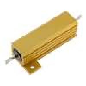 Rezistor drátový s radiátorem přišroubováním 680mR 50W ±5%