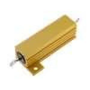 Rezistor drátový s radiátorem přišroubováním 10R 50W ±5%