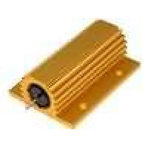 Rezistor drátový s radiátorem přišroubováním 22R 100W ±5%