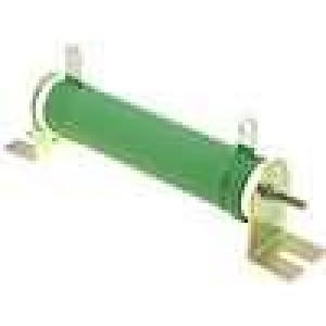 Rezistor drátový 1K 50W ±5% Ø25x120mm 200ppm/°C konektor očka