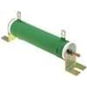 Rezistor drátový 1K 80W ±5% Ø28x121mm 200ppm/°C konektor očka