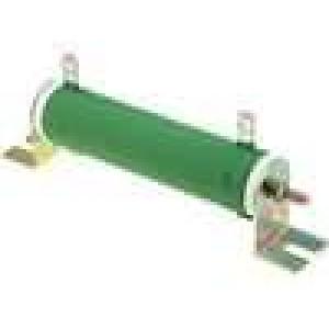 Rezistor drátový 2,2K 80W ±5% Ø28x121mm 200ppm/°C konektor očka