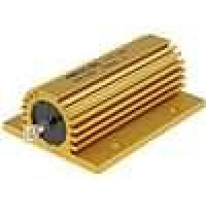 Rezistor drátový s radiátorem přišroubováním 150R 100W ±5%