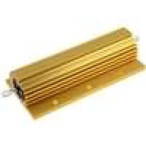 Rezistor drátový s radiátorem přišroubováním 100mR 150W ±5%