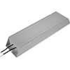 Rezistor drátový s radiátorem 100R 1000W ±5% 400x100x50mm