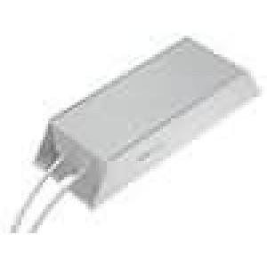 Rezistor drátový s radiátorem 1R 200W ±5% 165x60x30mm
