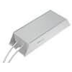 Rezistor drátový s radiátorem 220R 200W ±5% 165x60x30mm
