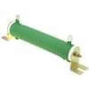 Rezistor drátový 1R 100W ±5% Ø28x151mm 200ppm/°C konektor očka