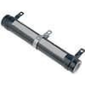 Rezistor drátový nastavitelný 10R 100W Ø28x165mm