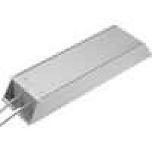 Rezistor drátový s radiátorem 22R 300W ±5% 215x60x30mm