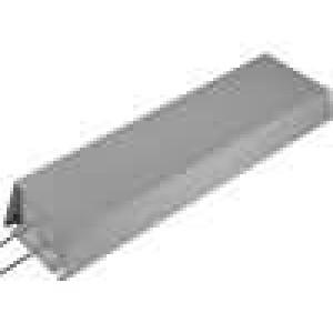 Rezistor drátový s radiátorem 10R 1kW ±5% 50x100x400mm