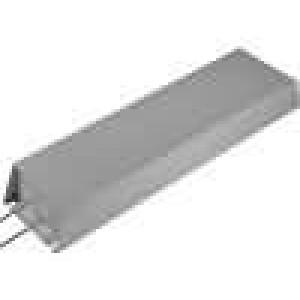 Rezistor drátový s radiátorem 1R 1kW ±5% 50x100x400mm