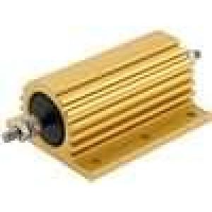 Rezistor drátový s radiátorem přišroubováním 100mR 200W ±5%
