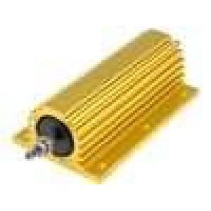 Rezistor drátový s radiátorem přišroubováním 100R 300W ±5%
