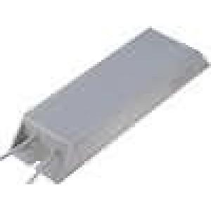 Rezistor drátový s radiátorem 4,7R 300W ±5% 30x60x215mm