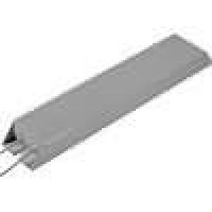 Rezistor drátový s radiátorem 1R 600W ±5% 30x60x335mm
