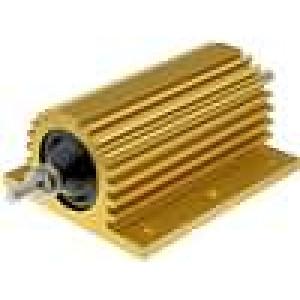 Rezistor drátový s radiátorem přišroubováním 47R 200W ±5%