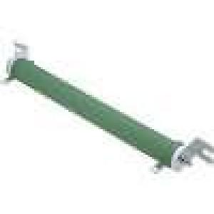Rezistor drátový 100R 200W ±5% Ø31x254mm 300ppm/°C konektor očka