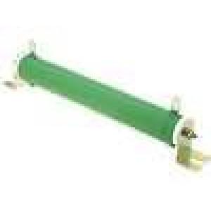 Rezistor drátový 2,2R 150W ±5% Ø28x206mm 200ppm/°C konektor očka