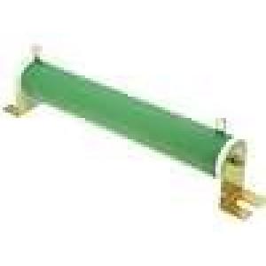 Rezistor drátový 22R 200W ±5% Ø35x222mm 200ppm/°C konektor očka
