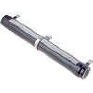 Rezistor drátový nastavitelný 220R 200W ±5% Ø33x265mm