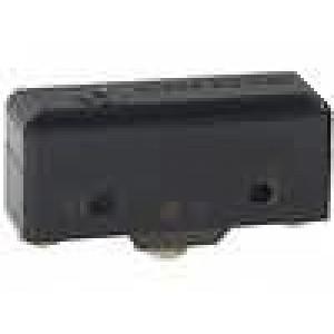 Mikrospínač bez páčky SPDT 15A/250VAC ON-(ON) 1-polohové