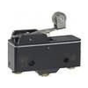 Mikrospínač s páčkou (s kladkou) SPDT 15A/250VAC ON-(ON)