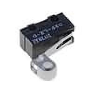 Mikrospínač s páčkou (s kladkou) SPDT 3A/125VAC 2A/30VDC