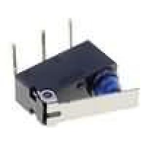 Mikrospínač s páčkou SPDT 0,1A/125VAC 2A/12VDC ON-(ON) IP67