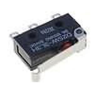 Mikrospínač s páčkou simulující kladku SPDT 3A/125VAC IP67