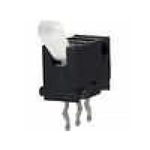 Mikrospínač s páčkou SPDT 0,1A/30VDC ON-(ON) BBM 1-polohové