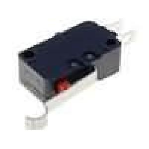 Mikrospínač s páčkou simulující kladku SPDT 16A/250VAC IP40