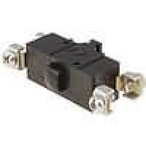 Mikrospínač SPST-NO + SPST-NC 10A/230VAC