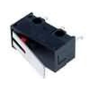 Mikrospínač s páčkou SPDT 1A/250VAC ON-(ON) 1-polohové IP40