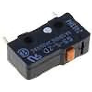 Mikrospínač bez páčky SPST-NC 5A/125VAC ON-(OFF) 1-polohové