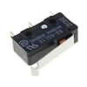 Mikrospínač s páčkou simulující kladku SPDT 5A/125VAC IP40