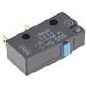 Mikrospínač bez páčky SPDT 3A/250VAC ON-(ON) 1-polohové IP40