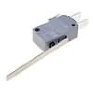 Mikrospínač s páčkou SPDT 16A/250VAC ON-(ON) 1-polohové IP40