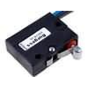 Mikrospínač s páčkou (s kladkou) SPDT 5A/250VAC ON-(ON) IP67