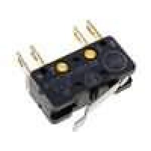 Mikrospínač s páčkou SPST-NO + SPST-NC 2,5A/250VAC ON-(ON)