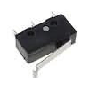 Mikrospínač s páčkou simulující kladku SPDT 3A/250VAC IP40