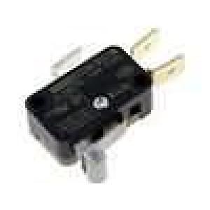 Mikrospínač s páčkou (s kladkou) SPDT 12A/250VAC ON-(ON)
