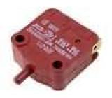 Mikrospínač bez páčky SPST-NO + SPST-NC 16A/400VAC ON-(ON)