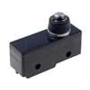 Mikrospínač s trnem SPDT 15A/250VAC konektor pájecí