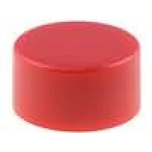 Hmatník 10mm kulatý červená